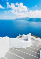 Лестница в море, Греция острова Корфу, Родос