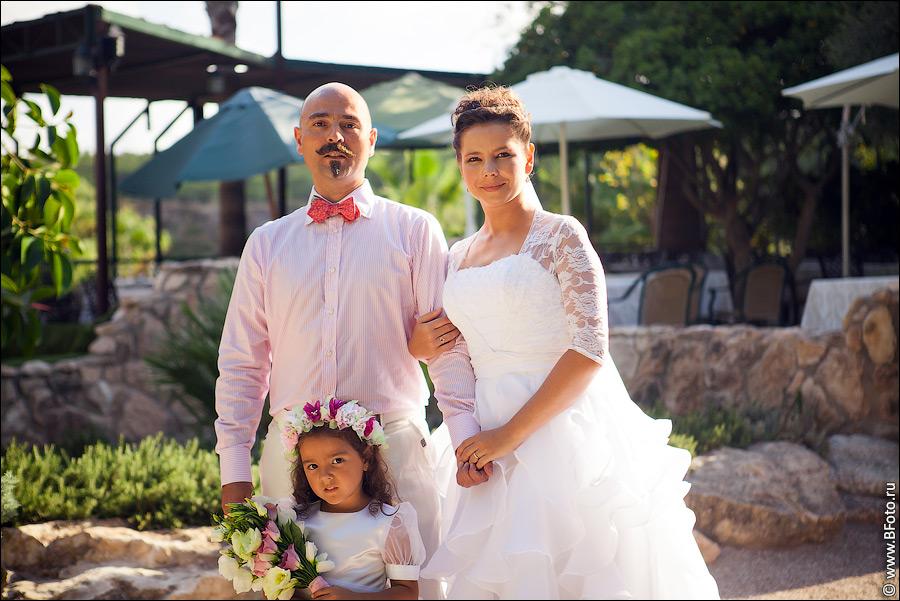 Свадьба в Испании видео и фото на берегу моря
